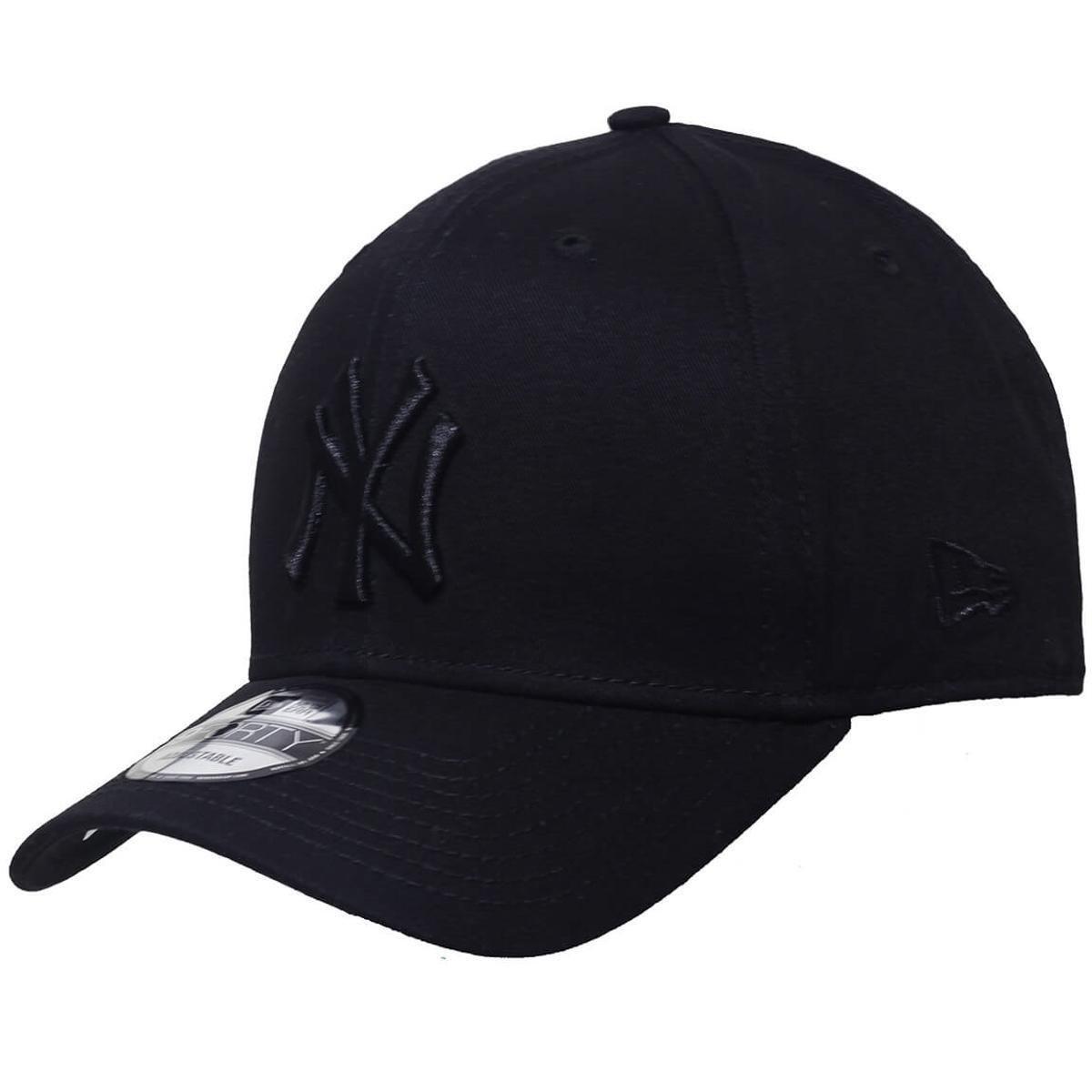 Boné New Era Aba Curva Snapback Mlb Ny Yankees Bla - Compre Agora ... 0646cae44d0