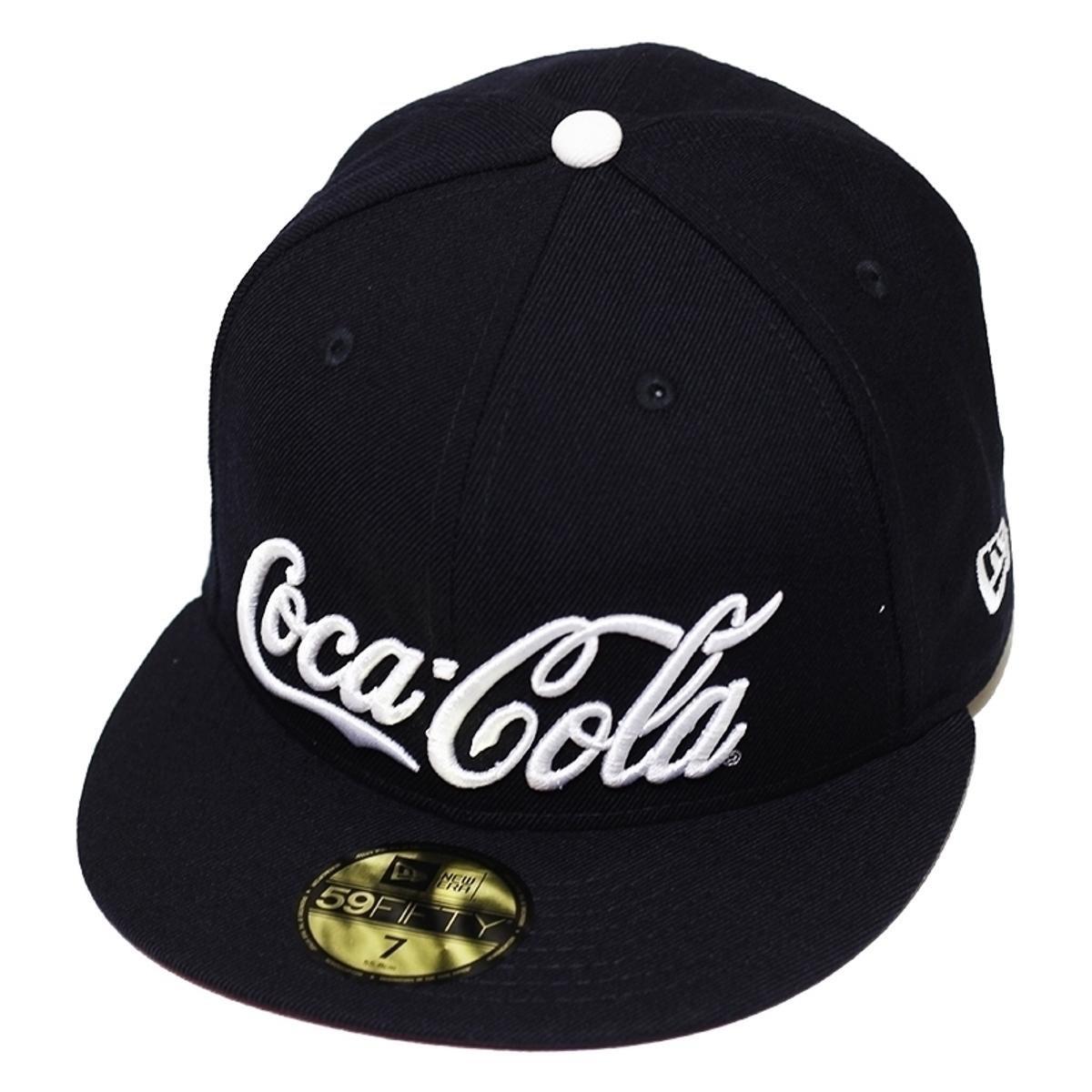 Boné New Era Aba Reta Fechado Coca-Cola Enjoy Navy - Azul - Compre ... 4c13c9a0957