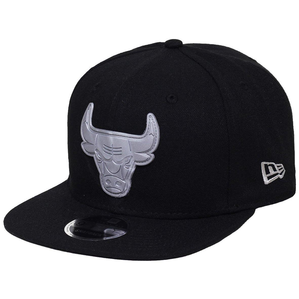 Boné New Era Aba Reta Snapback Nba Chicago Bulls R - Compre Agora ... b08f019ba57