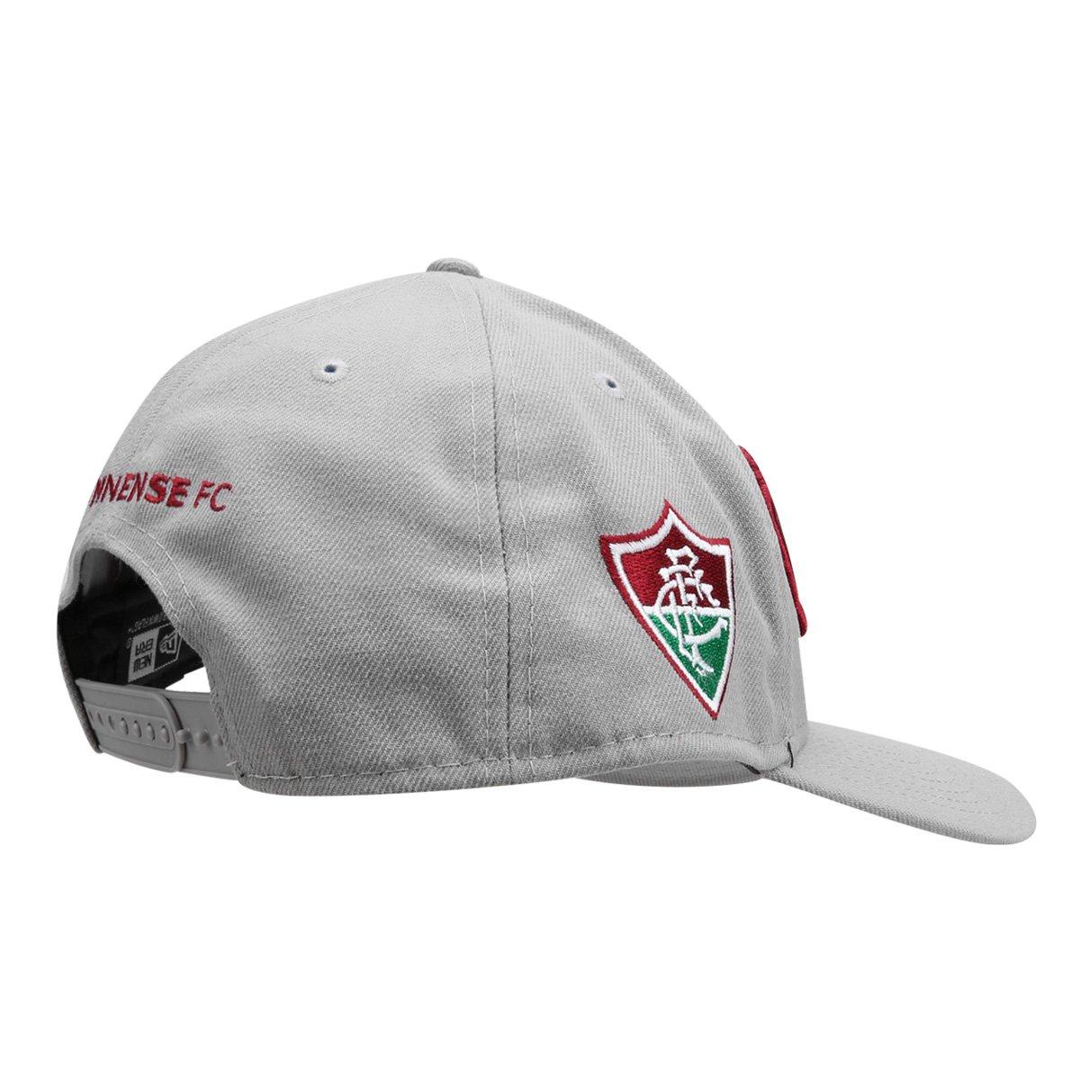 Boné New Era Fluminense Aba Curva 940 Guerreiros - Compre Agora ... f2e721da889dd