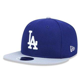 Boné New Era Los Angeles Dodgers 950 Team Color Aba Reta MLB