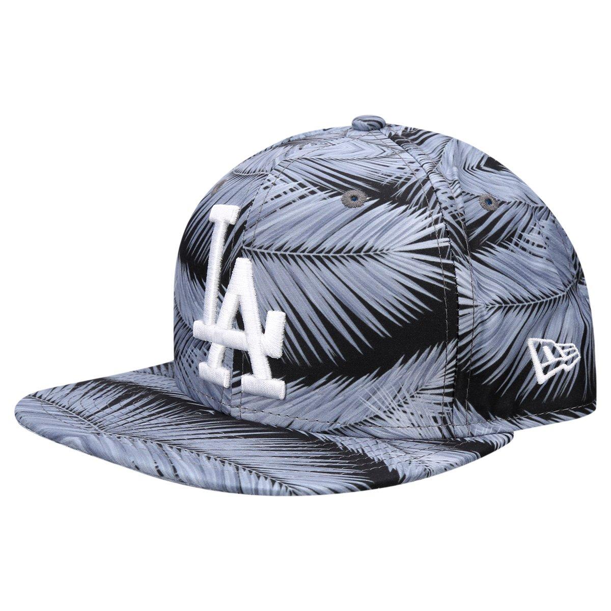 Boné New Era MLB 950 Of Sn Folhas Los Angeles Dodgers - Compre Agora ... 90cfe4c53dc