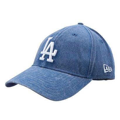 Boné New Era MLB Los Angeles Dodgers Aba Curva 920 St Rugged Wash - Unissex
