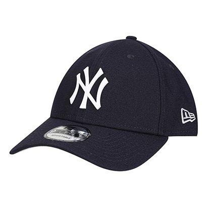 Boné New Era MLB New York Yankees 940 Core Metal White - Unissex
