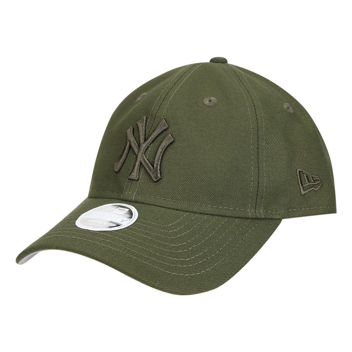 Boné New Era MLB New York Yankees Aba Curva 920 Rifle Green Tonal ... 79b82849cda5b