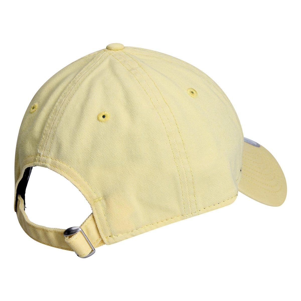 Boné New Era MLB New York Yankees Aba Curva 920 St Pastels - Amarelo ... 8f1d6f43c460e