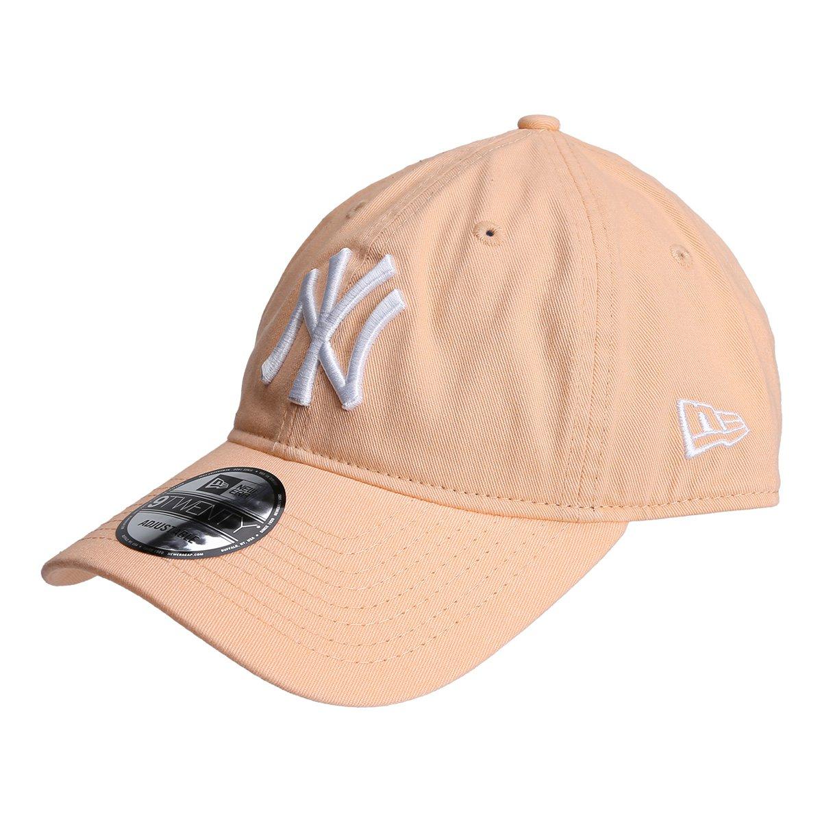 b8d68fde4 Boné New Era MLB New York Yankees Aba Curva 920 St Pastels - Compre Agora