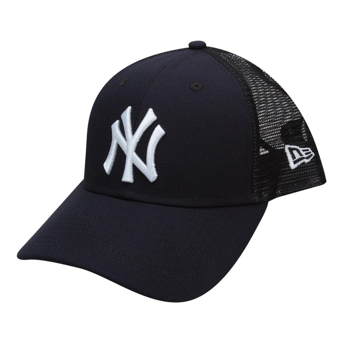 7aa3ced15ddb2 Boné New Era MLB New York Yankees Aba Curva 940 Sn Trucker - Compre Agora