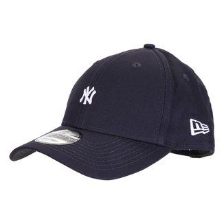Boné New Era MLB New York Yankees Aba Curva Snapback 940 Mini Logo