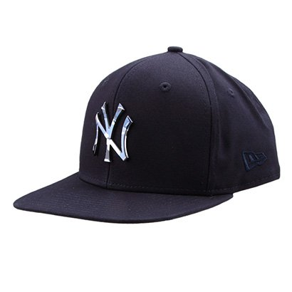 Boné New Era MLB New York Yankees Aba Reta 950 Of Sn Lic981 Su - Unissex