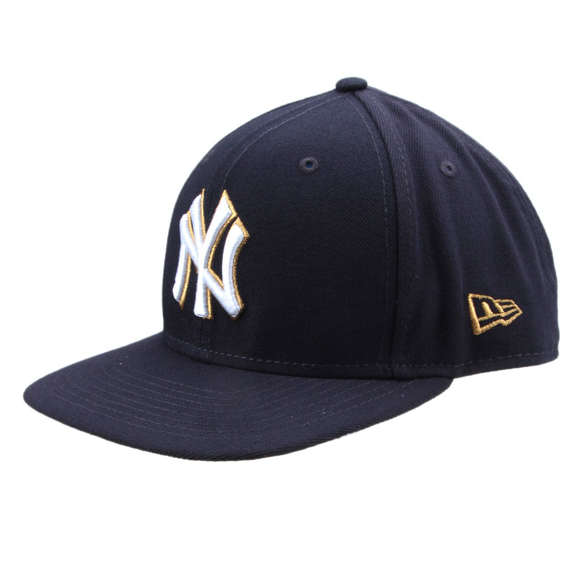Boné New Era MLB New York Yankees Aba Reta Gold City - Compre Agora ... 548e87c0334