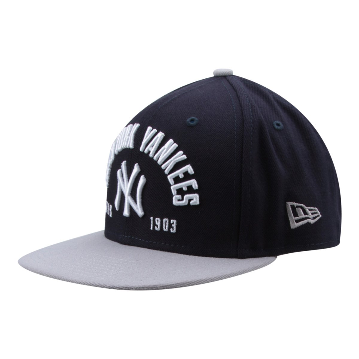 Boné New Era MLB New York Yankees Aba Reta Street - Compre Agora ... 99ece627980