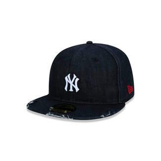 Boné New Era MLB New York Yankees Denim 9Twenty Aba Reta