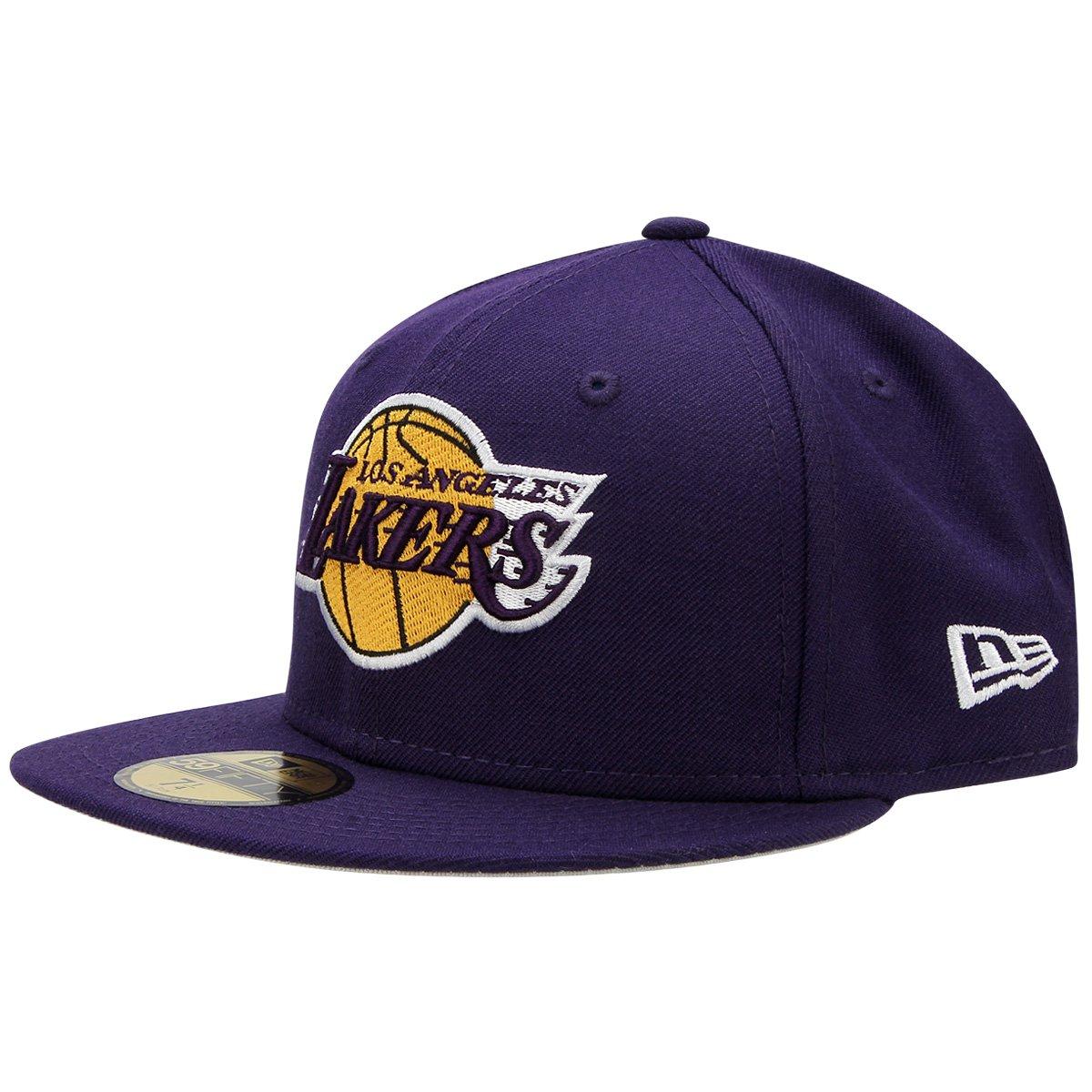 7da2df5bb8f21 Boné New Era NBA 5950 Los Angeles Lakers - Compre Agora