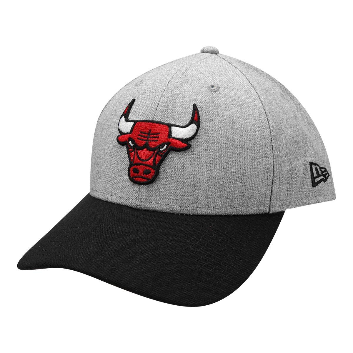 49f48ab9efcde Boné New Era NBA 940 Hc Sn Heather Chicago Bulls - Compre Agora ...