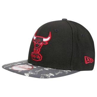 Boné New Era NBA 950 Of Snglowing Vize Chicago Bulls
