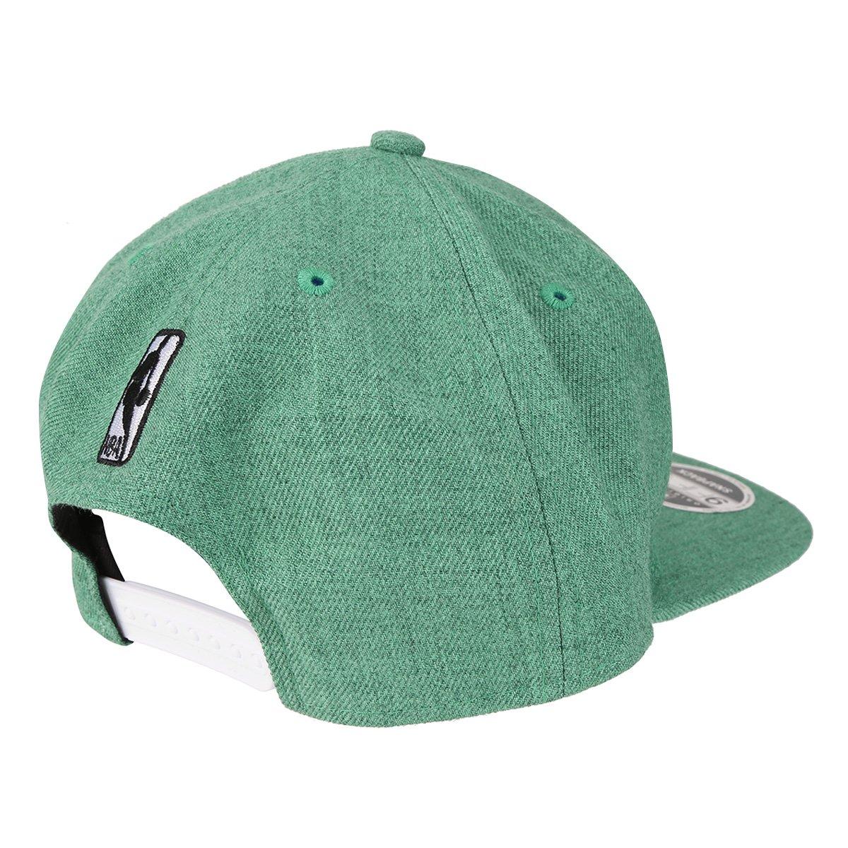 b314b05acb95c Boné New Era NBA Boston Celtics Aba Reta Washed Denim - Compre Agora ...