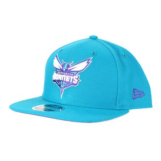 Boné New Era NBA Charlotte Hornets Aba Reta Snapback 9Fifty Of Sn Primary