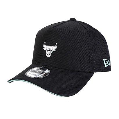 Boné New Era NBA Chicago Bulls Aba Curva - Unissex