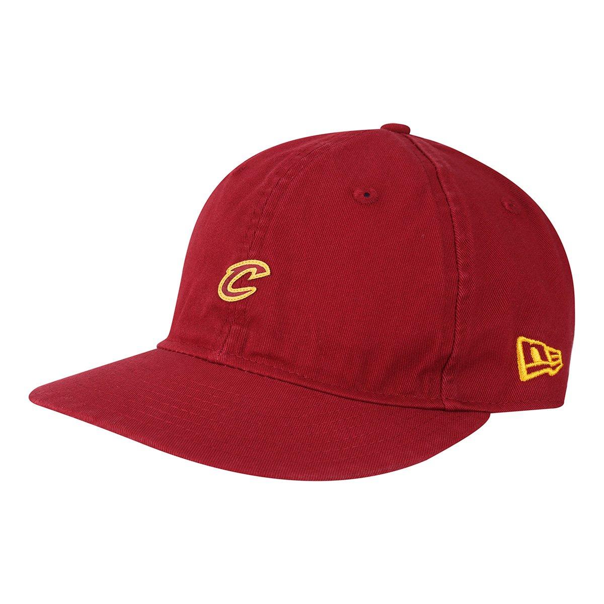 80db4a2c1feee Boné New Era NBA Cleveland Cavaliers Aba Reta 950 Lp St Mini Logo Car -  Vermelho - Compre Agora