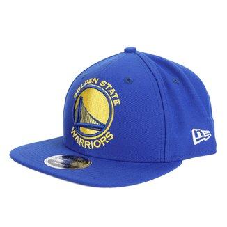 Boné New Era NBA Golden State Warriors Aba Reta Primary