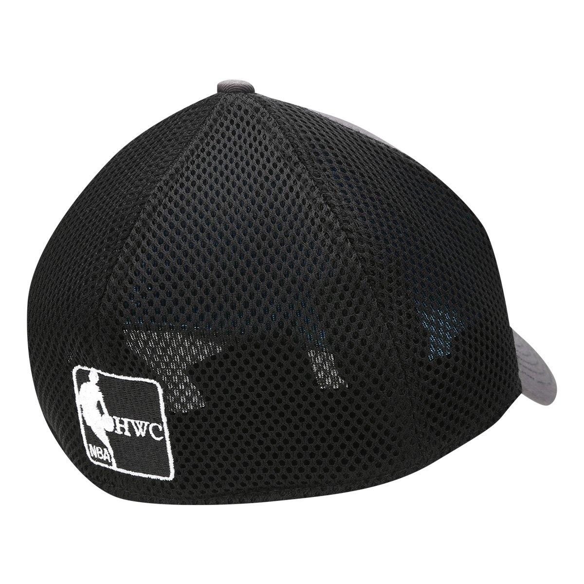Boné New Era NBA New York Knicks Aba Curva 3930 Neo - Cinza e Preto ... 39057e6ce52