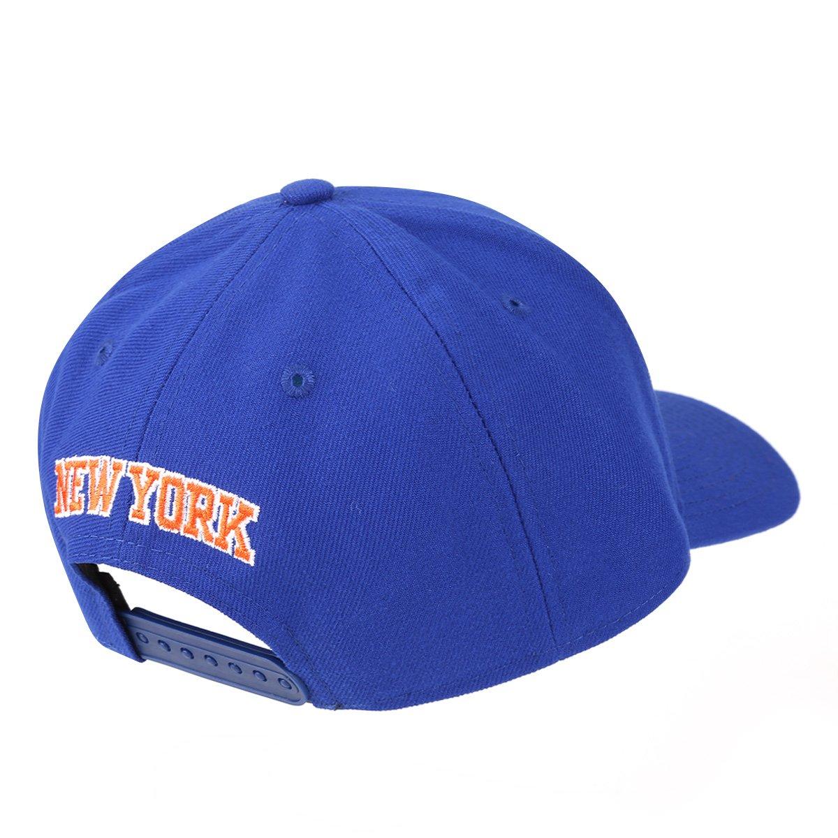 Boné New Era NBA New York Knicks Aba Curva Primary - Compre Agora ... 6af85c4cc67