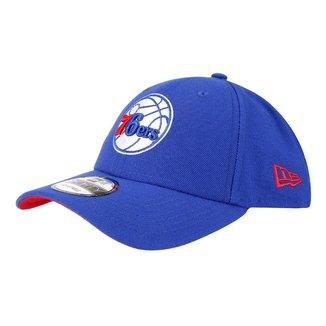 Boné New Era NBA Philadelphia 76Ers Aba Curva 940 SN Primary Otc