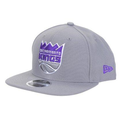 Boné New Era NBA Sacramento Kings Aba Reta Snapback Team Fit Aba Reta 9Fifty