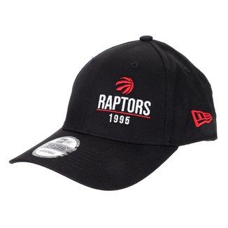 Boné New Era NBA Toronto Raptors Aba Curva Snapback 940 SN Urban Tech Year