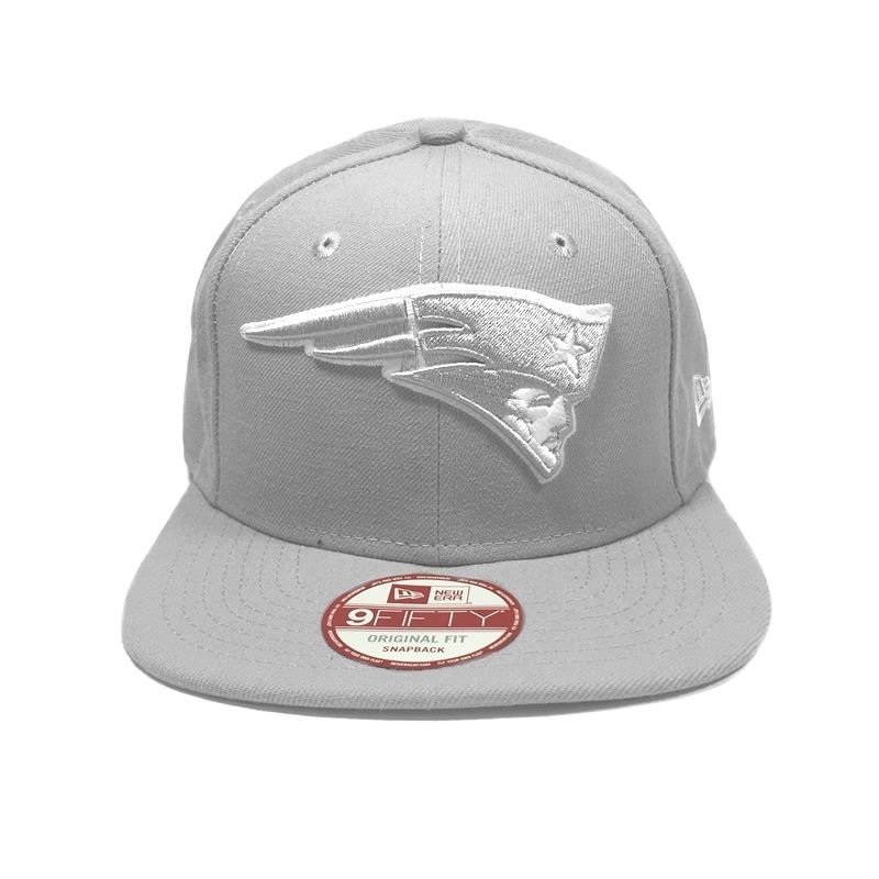 ... Boné New Era New England Patriots 950 Snapback White on Gray ... 5c3b8d457c642
