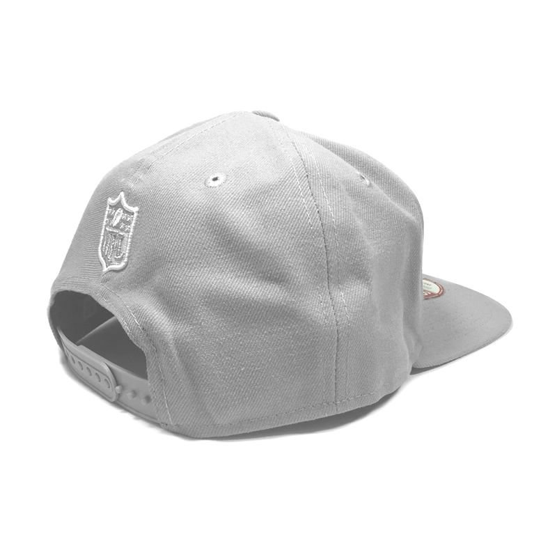 Boné New Era New England Patriots 950 Snapback White on Gray ... f394c6fd1857b