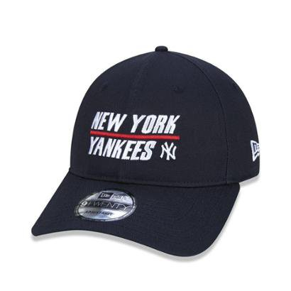 Bone New Era New York Kankees 920 Sport Half