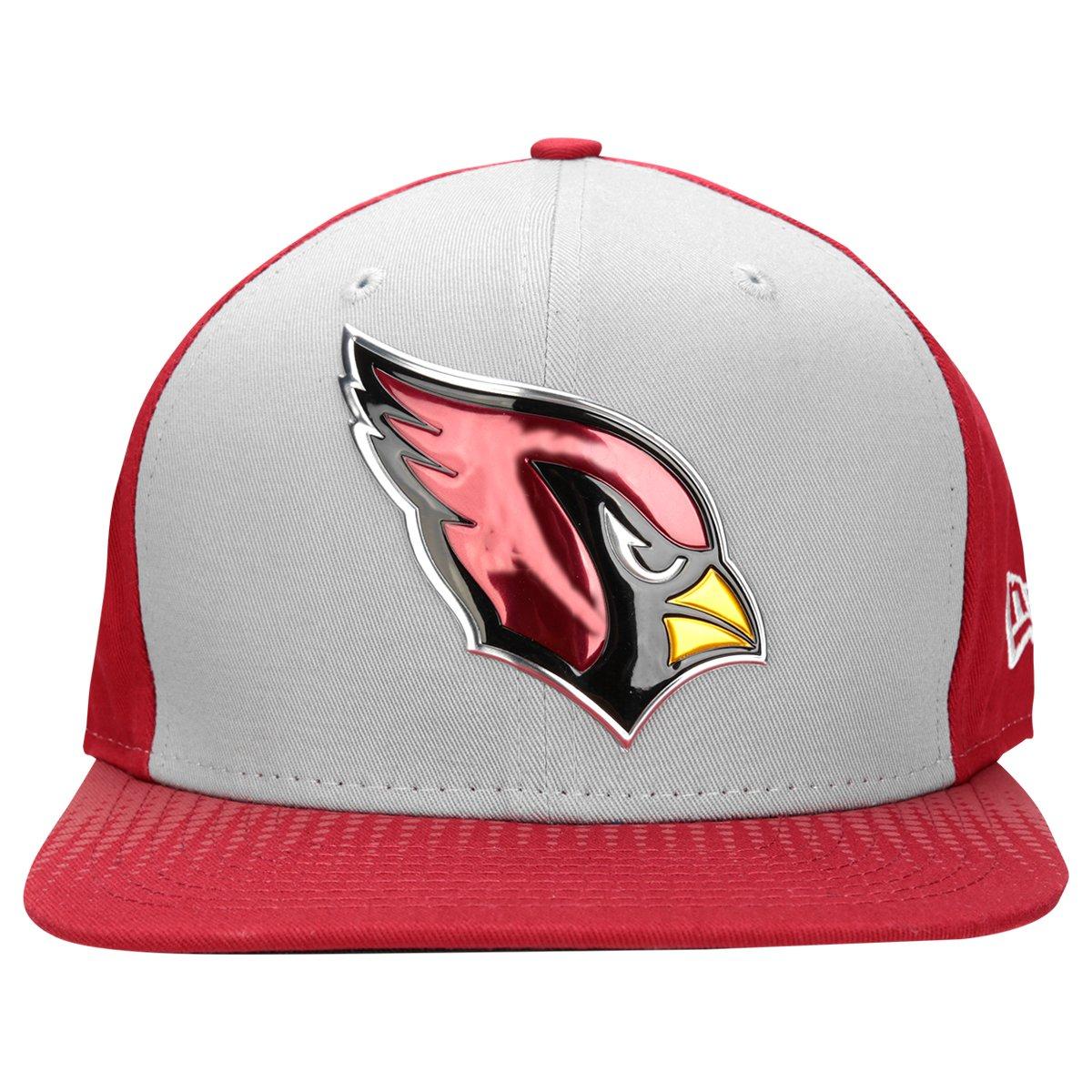 Boné New Era NFL 950 Draft Colletion Arizona Cardinals - Cinza e Vermelho - Compre  Agora  025f26ace3d