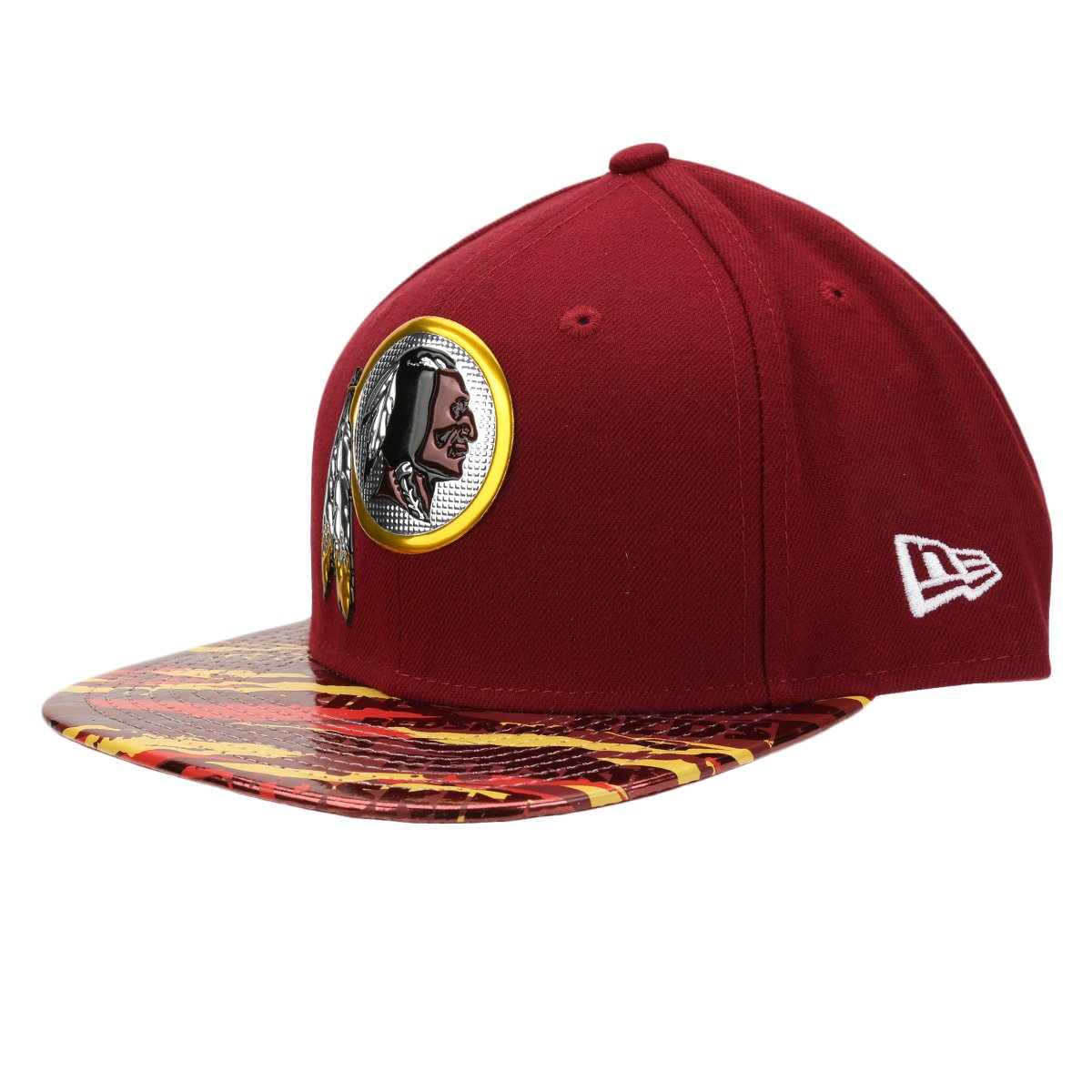 Boné New Era NFL 950 Of Sn Kickoff Print Washington Redskins Reve - Compre  Agora  5fa0600af58d5
