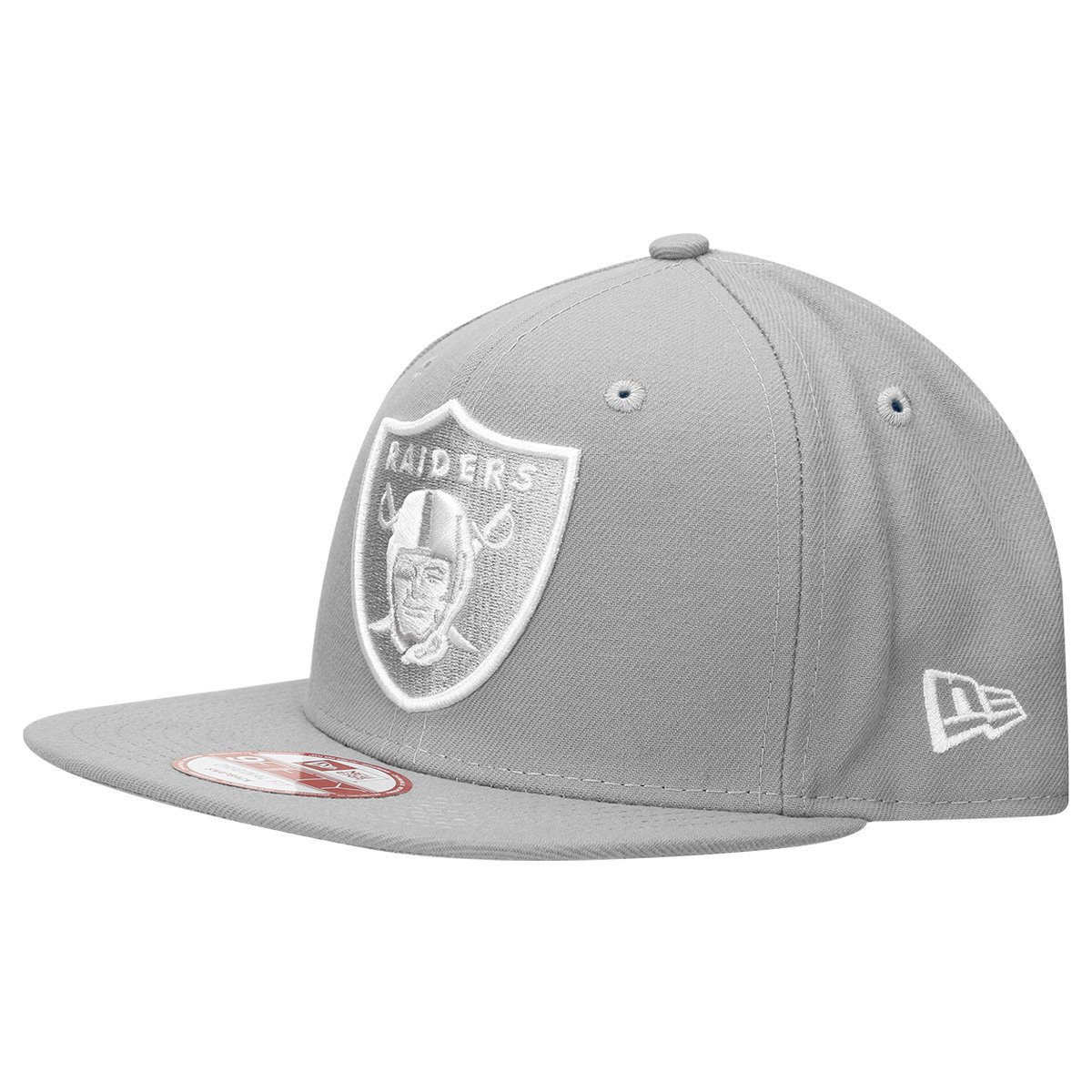 Boné New Era NFL 950 Of Sn White On Gray Oakland Raiders - Compre ... 142f7eb2e89