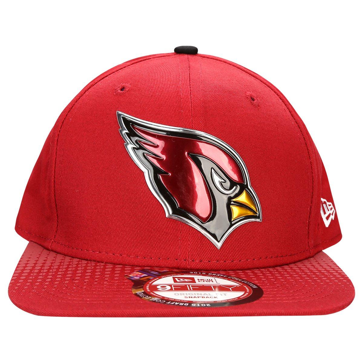 Boné New Era NFL 950 Official Draft Arizona Cardinals - Compre Agora ... c82cbf9a79d