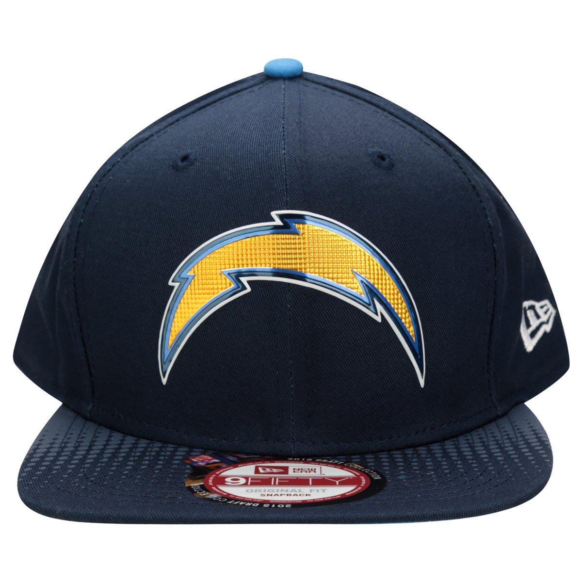San Diego Chargers Draft: Boné New Era NFL 950 Official Draft San Diego Chargers