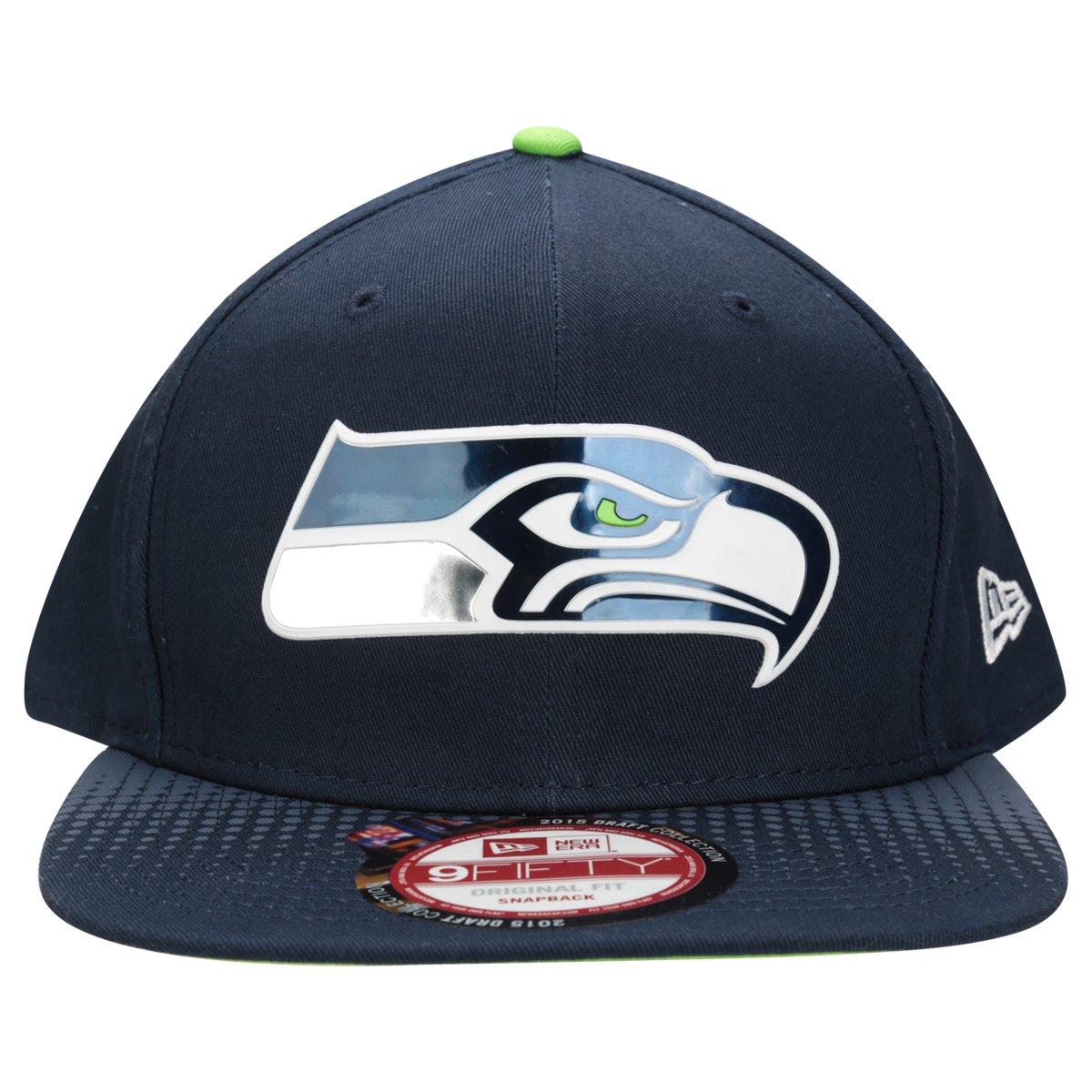 bb1142d4c Boné New Era NFL 950 Official Draft Seattle Seahawks - Compre Agora ...