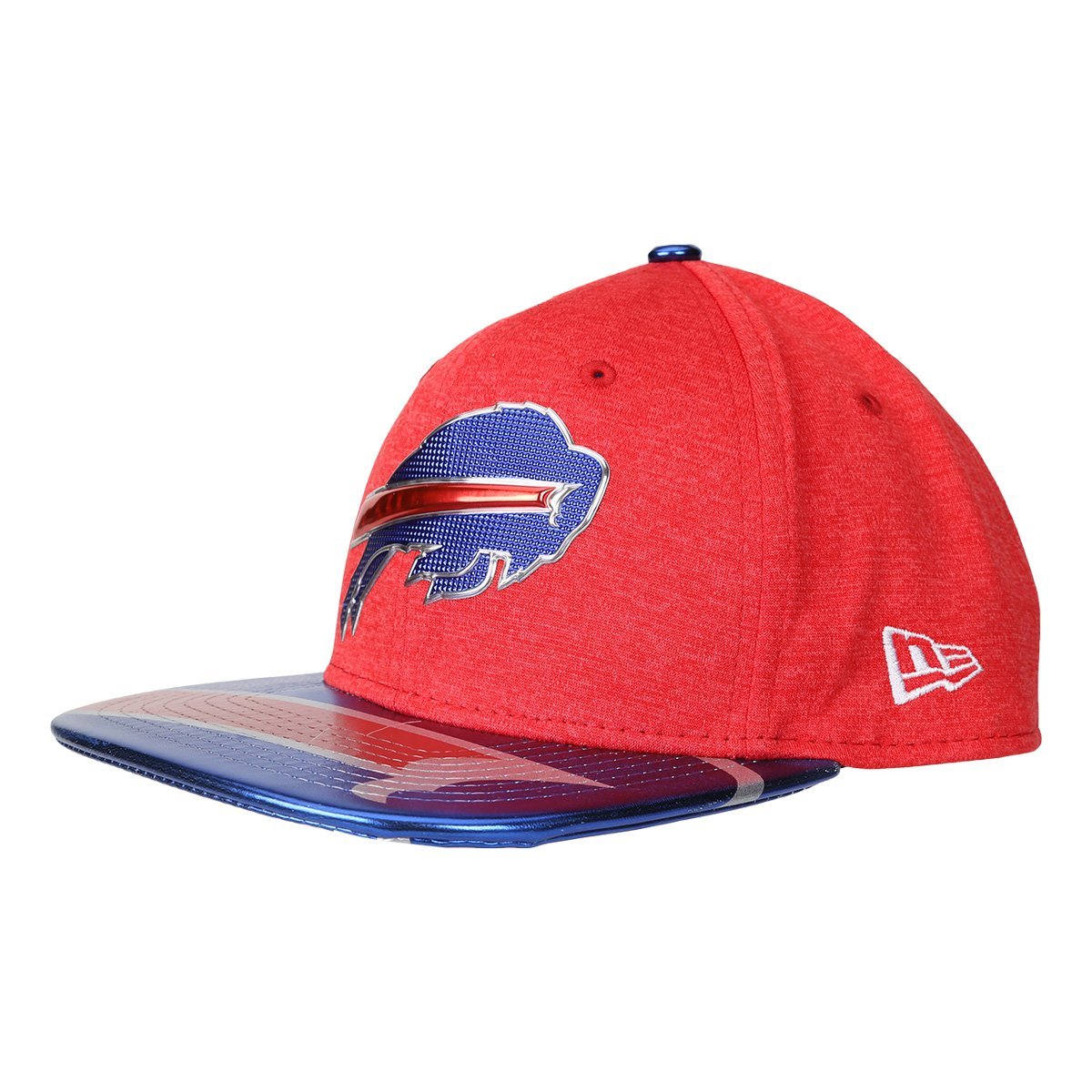 876efbab722d9 Boné New Era NFL Buffalo Bills Aba Reta 950 Original Fit Sn On Stage  Masculino - Vermelho e Marinho - Compre Agora