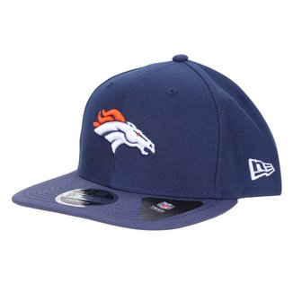 Boné New Era NFL Denver Broncos Aba Reta Snapback Street tast Throw 9Fifty