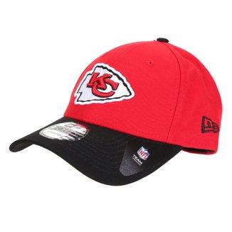 Boné New Era NFL Kansas City Chiefs Aba Curva Snapback 940 Team