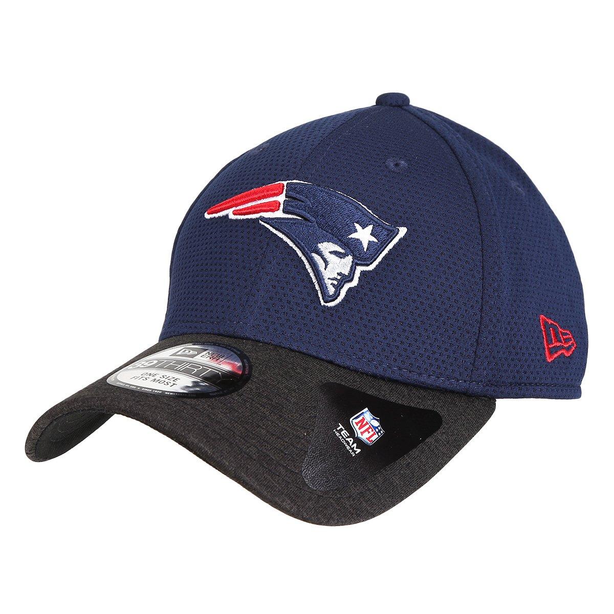 Boné New Era NFL New England Patriots Aba Curva 3930 - Compre Agora ... 04ef672ac83