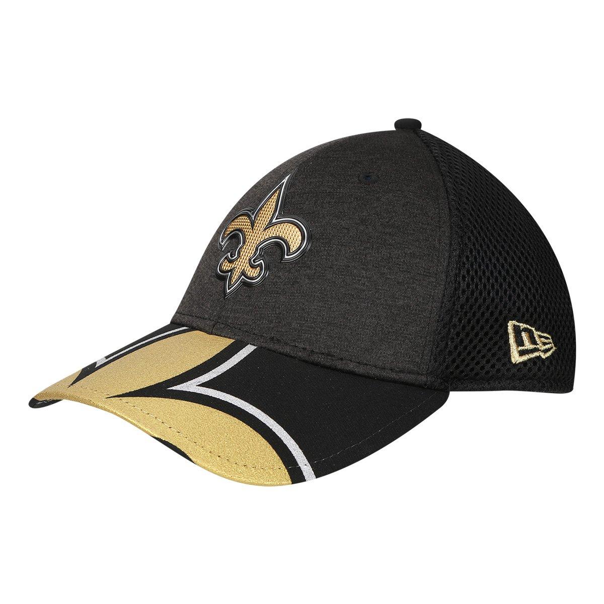 Boné New Era NFL New Orleans Saints Aba Curva 3930 On Stage Masculino -  Compre Agora  cfc64443ab8
