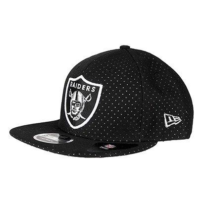 910d8cc8df398 Boné New Era NFL Oakland Raiders Aba Reta 950 Of Sn Street 005 - Compre  Agora