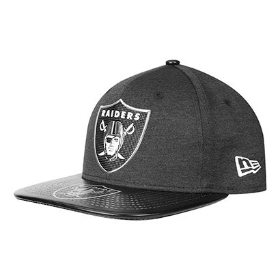 Boné New Era Nfl Oakland Raiders Aba Reta 950 Original Fit Sn On Stage  Masculino 873b0fc11a9fe