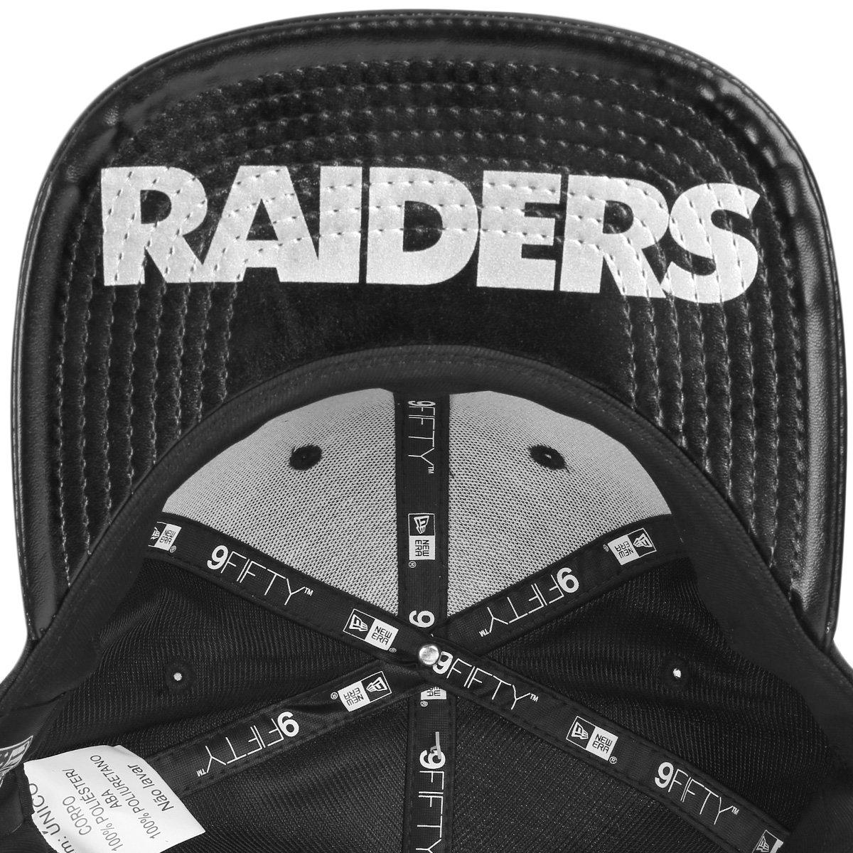 19c072472e5e0 ... Boné New Era NFL Oakland Raiders Aba Reta 950 Original Fit Sn On Stage  Masculino -. NIVER 18  OFERTAS  OPEC