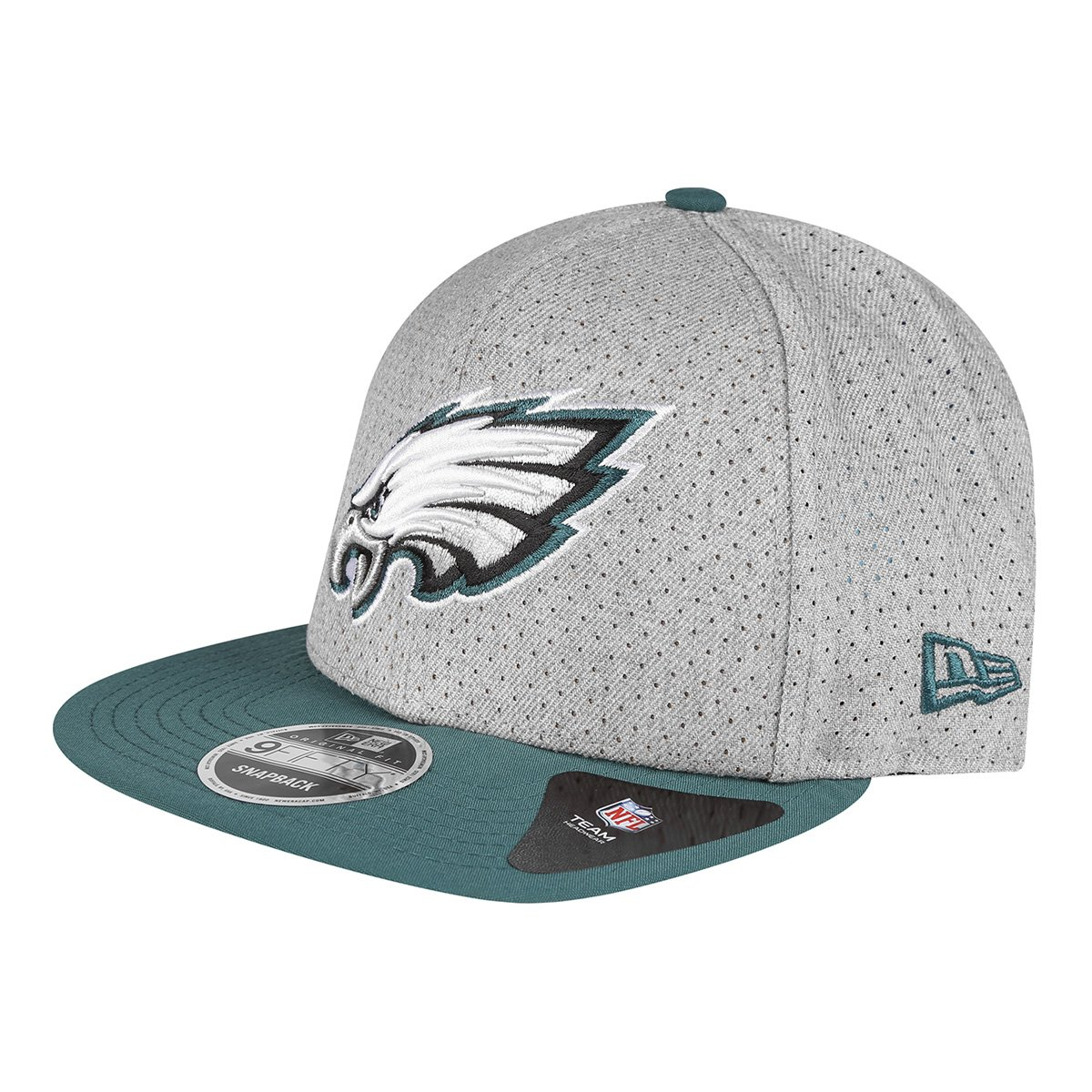 Boné New Era NFL Philadelphia Eagles Aba Reta 950 Of Sn 2T Perf - Compre  Agora  01579692581