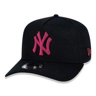 Boné New Era NY New York Yankees 940 A-Frame Veranito Aba Curva