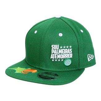 Boné New Era Palmeiras Aba Reta 950 OF